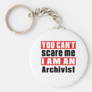 Porte-clés Conceptions d'alerte d'archiviste