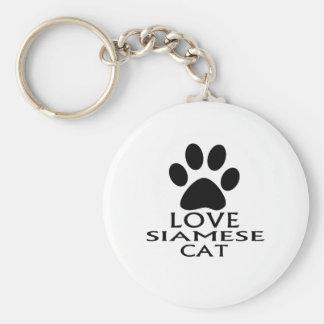 Porte-clés CONCEPTIONS de CAT SIAMOIS de SIAMESEaLOVE