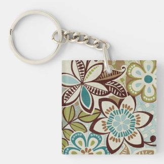 Porte-clés Conceptions florales modernes