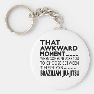 Porte-clés Conceptions maladroites de ce de moment Jiu-Jitsu