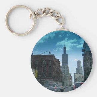 Porte-clés Conduisez par Chicago du centre