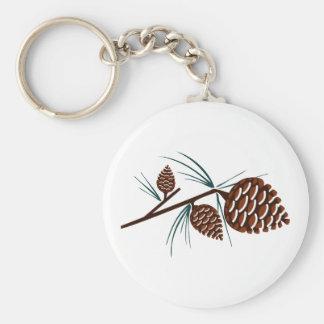 Porte-clés Cônes de pin