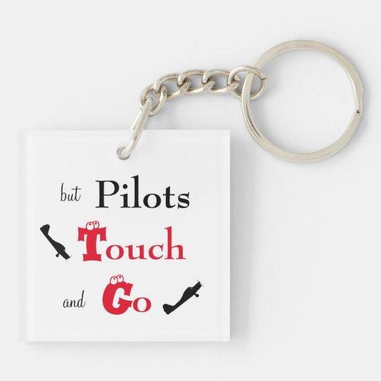 Porte cl s contact de pilotes et allez porte cl for Porte traduction