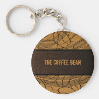 Porte-clés Contemporain, amusement et grain de café coloré