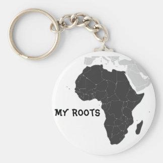 Porte-clés Continent de l'Afrique
