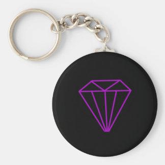 Porte-clés Contour de diamant