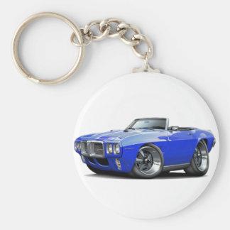 Porte-clés Convertible 1969 bleu de Firebird