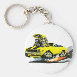 Porte-clés Convertible 1969 Jaune-Noir du RS solides solubles