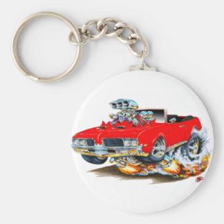Porte-clés Convertible 1969 rouge de sabre d'abordage d'Olds