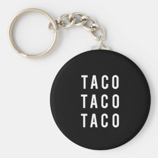 Porte-clés Copie drôle de taco de taco de taco
