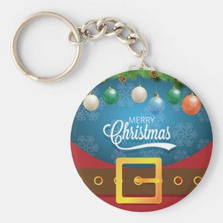 Porte-clés Costume de Père Noël de Joyeux Noël