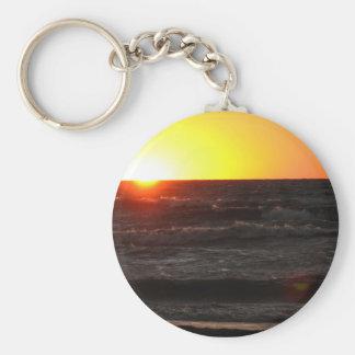Porte-clés Coucher du soleil chez le lac Érié