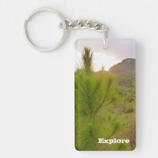 Porte-clés Coucher du soleil dans Sagada, porte - clé de
