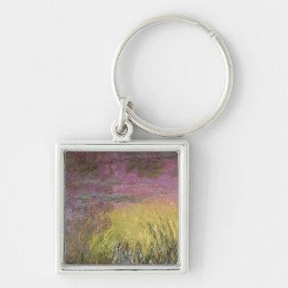 Porte-clés Coucher du soleil de nénuphars de Claude Monet |,