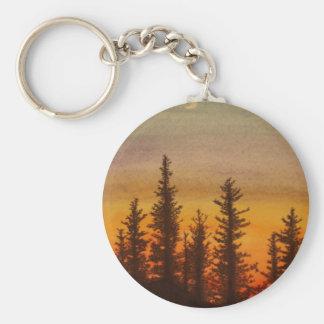 Porte-clés Coucher du soleil de Pinetree