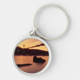 Porte-clés Coucher du soleil de pont de St Johns