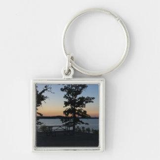Porte-clés Coucher du soleil de roche de Tableau