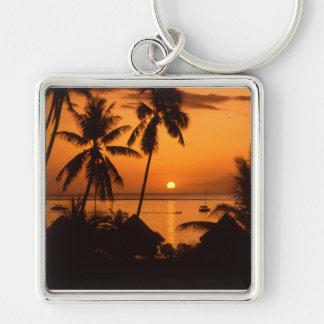 Porte-clés coucher du soleil du Tahiti