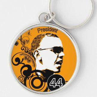 Porte-clés Couleur d'arrière - plan de changement d'Obama