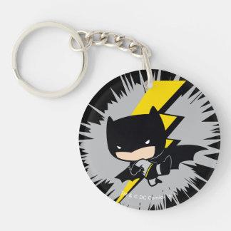 Porte-clés Coup-de-pied de foudre de Chibi Batman