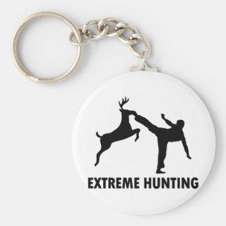 Porte-clés Coup-de-pied extrême de karaté de cerfs communs de