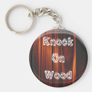 Porte-clés Coup sur le porte - clé en bois
