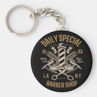 Porte-clés Coupe et rasage spéciaux quotidiens de salon de