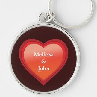 Porte-clés Couple´s appelle le coeur