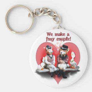 Porte-clés Couples rusés