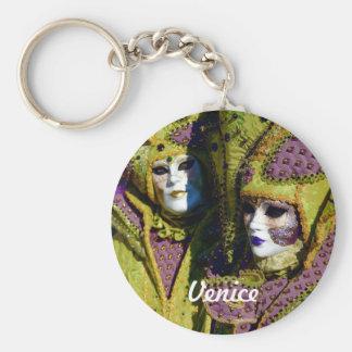 Porte-clés Couples vénitiens colorés
