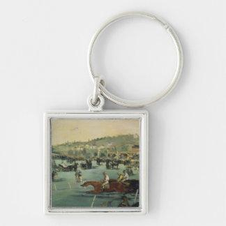 Porte-clés Course de chevaux de Manet |, 1872
