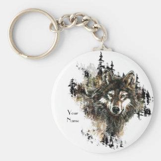Porte-clés Coutume, art personnalisé d'animal de montagne de