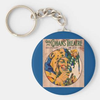 Porte-clés couverture d'affiche du théâtre de Cohan des