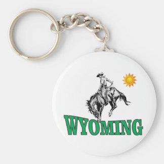 Porte-clés Cowboy du Wyoming