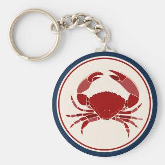 Porte-clés Crabe rouge