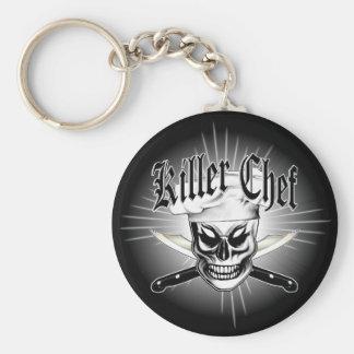 Porte-clés Crâne 4 de chef : Chef de tueur