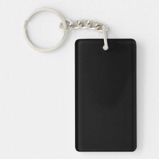 Porte-clés CRÉEZ VOTRE PROPRE rectangle de PORTE - CLÉ à