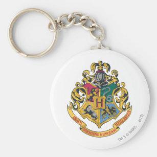 Porte-clés Crête de Harry Potter   Hogwarts - polychrome