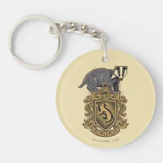 Porte-clés Crête de Harry Potter | Hufflepuff avec le