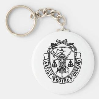 Porte-clés crête de MP