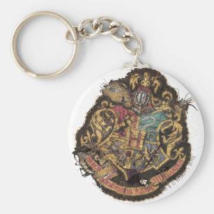 Porte-clés Crête vintage de Harry Potter   Hogwarts