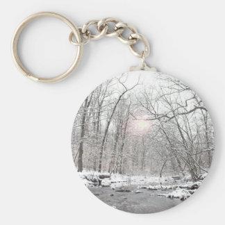 Porte-clés Crique - hiver