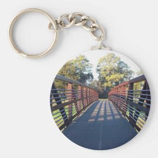 Porte-clés Croisement de la photo de pont
