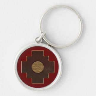 Porte-clés Croix de Chakana