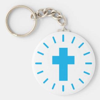 Porte-clés Croix de Jésus-Christ
