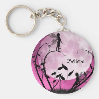 Porte-clés Croyez au porte - clé de fées