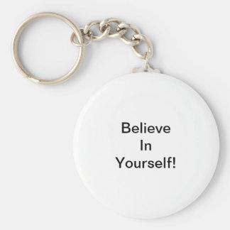 Porte-clés Croyez en vous-même !
