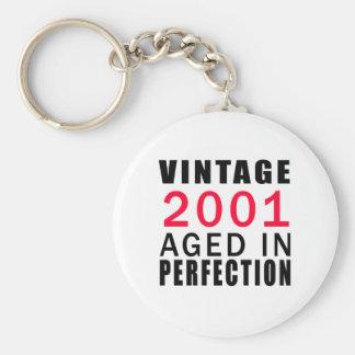 Porte-clés Cru en 2001 âgé dans la perfection