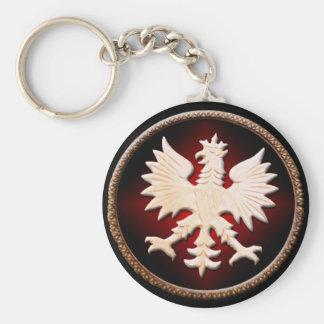 Porte-clés Cru polonais d'Eagle