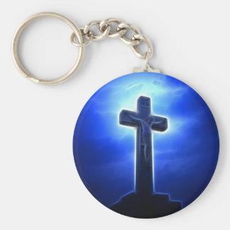 Porte-clés Crucifixion dramatique de Jésus